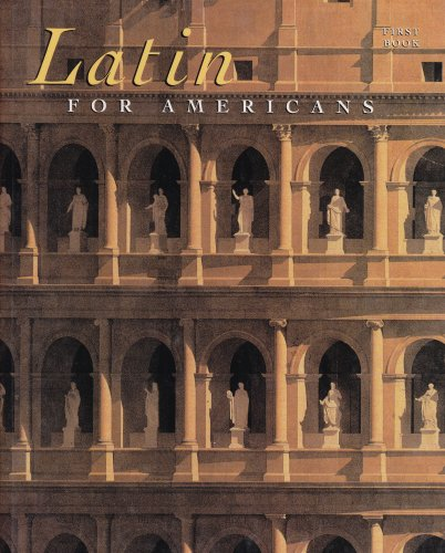 Latin for Americans : First Book 8th 1997 edition cover