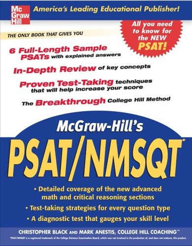 McGraw-Hill's PSAT/NMSQT   2006 9780071454124 Front Cover