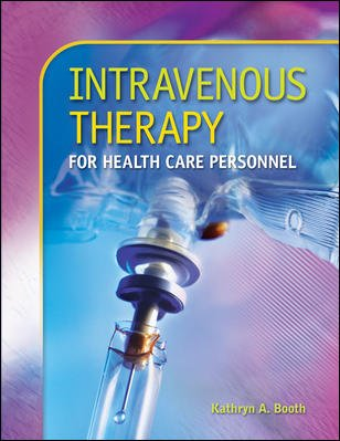 Intravenous Therapy for Health Care Personnel   2008 edition cover