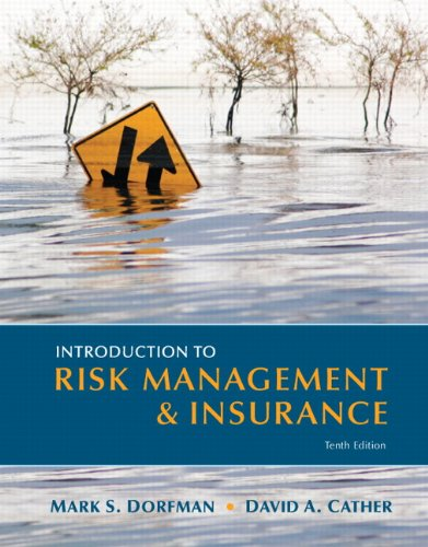 Introduction to Risk Management and Insurance  10th 2013 (Revised) edition cover