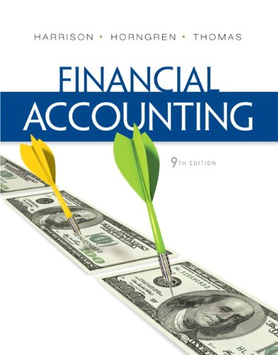 Financial Accounting  9th 2013 (Revised) edition cover
