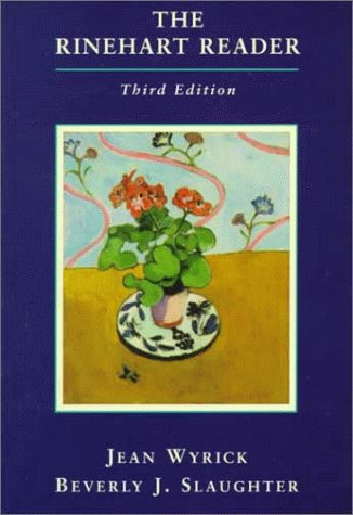 Rinehart Reader  3rd 1999 edition cover