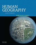 Human Geography A Short Introduction  2014 edition cover