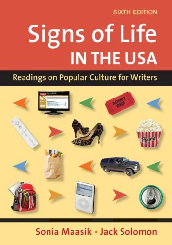 Signs of Life in the USA Readings on Popular Culture for Writers 6th edition cover