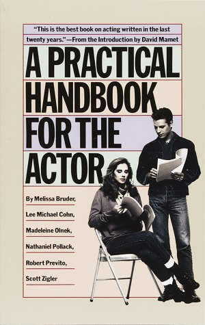 Practical Handbook for the Actor   1986 9780394744124 Front Cover