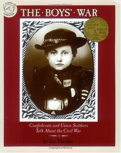 Boys' War Confederate and Union Soldiers Talk about the Civil War  1993 edition cover