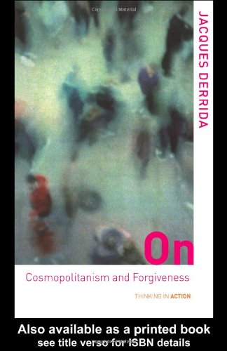On Cosmopolitanism and Forgiveness   2001 edition cover