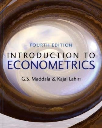 Introduction to Econometrics  4th 2010 (Revised) edition cover