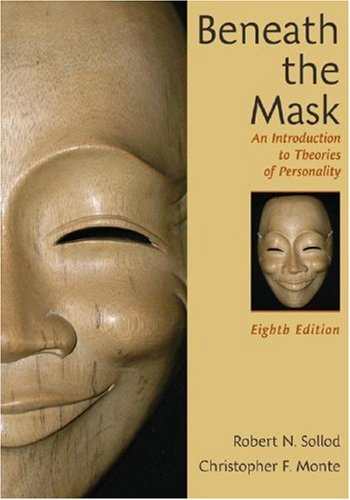 Beneath the Mask An Introduction to Theories of Personality 8th 2009 edition cover