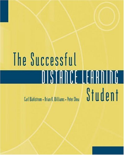 Successful Distance Learning Student   2003 9780534577124 Front Cover