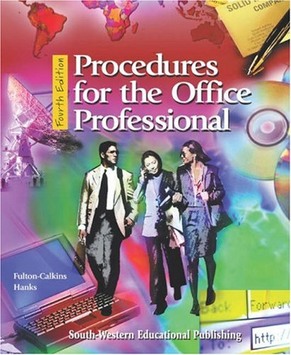 Procedures for the Office Professional Text/Data Disk Package 4th 2000 9780538722124 Front Cover