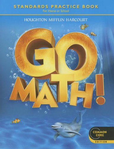 Go Math!, Grade K  N/A 9780547588124 Front Cover