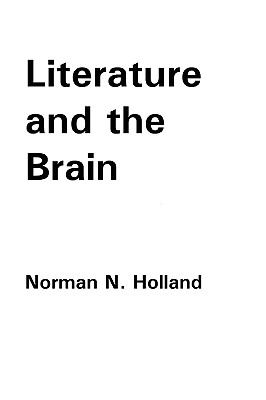 Literature and the Brain  0 edition cover