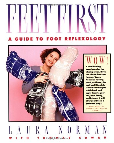 Feet First A Guide to Foot Reflexology  1988 edition cover