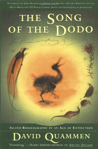 Song of the Dodo Island Biogeography in an Age of Extinctions  1997 edition cover