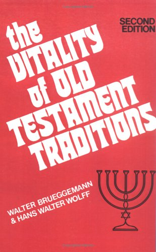 Vitality of Old Testament Traditions  2nd (Revised) edition cover