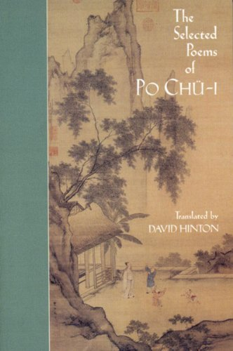 Selected Poems of Po Chu-I   1999 edition cover