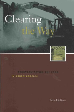 Clearing the Way Deconcentrating the Poor in Urban America  2003 edition cover