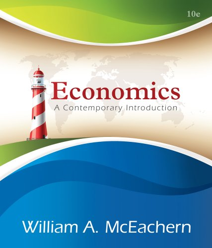 Economics A Contemporary Introduction 10th 2014 edition cover