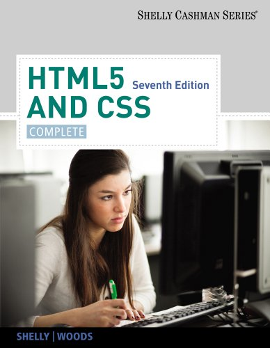 HTML5 and CSS Complete 7th 2013 edition cover