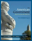 American Government: Essentials Edition  2014 edition cover