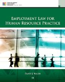 Employment Law for Human Resource Practice:   2015 edition cover