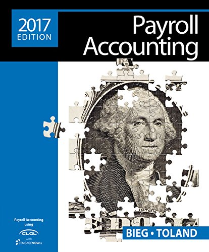 Payroll Accounting 2017 + Online General Ledger, 2-term Access:   2016 9781305675124 Front Cover
