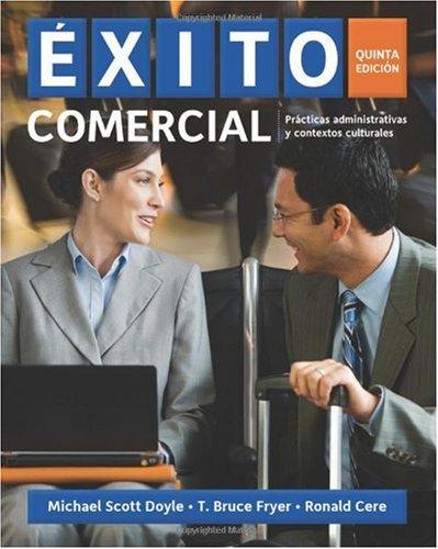 �xito Comercial  5th 2011 edition cover