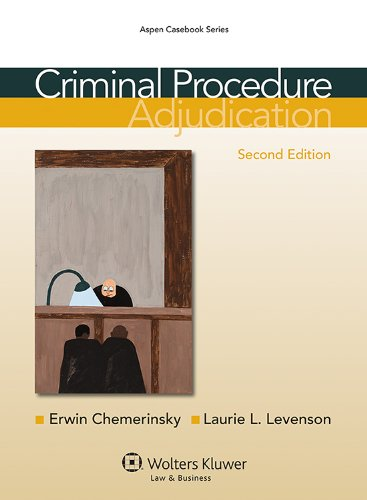 Criminal Procedure Adjudication 2nd 2013 (Revised) edition cover
