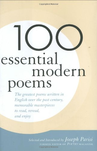 100 Essential Modern Poems   2005 9781566636124 Front Cover