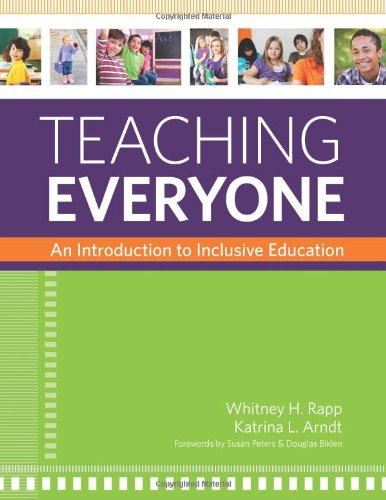 Teaching Everyone An Introduction to Inclusive Education  2012 edition cover
