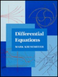 Differential Equations  1st 1994 edition cover