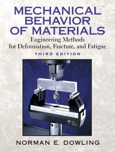 Mechanical Behavior of Materials Engineering Methods for Deformation, Fracture, and Fatigue 3rd 2007 (Revised) edition cover