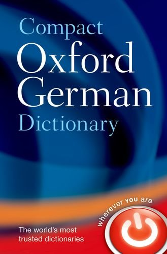 Compact Oxford German Dictionary   2013 edition cover
