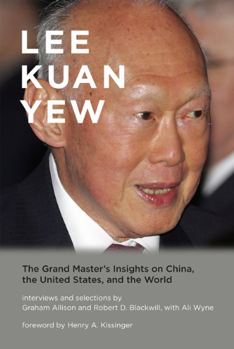 Lee Kuan Yew The Grand Master's Insights on China, the United States, and the World  2013 edition cover