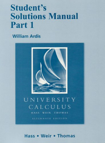University Calculus   2008 edition cover