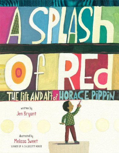 Splash of Red The Life and Art of Horace Pippin  2013 edition cover