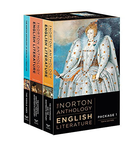 The Norton Anthology of English Literature:   2018 9780393603125 Front Cover