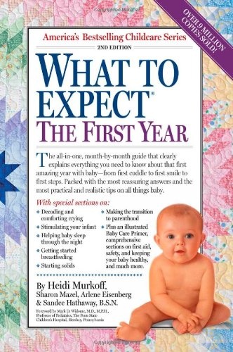 What to Expect the First Year  2nd edition cover