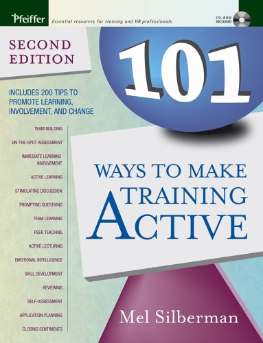 101 Ways to Make Training Active  2nd 2005 edition cover