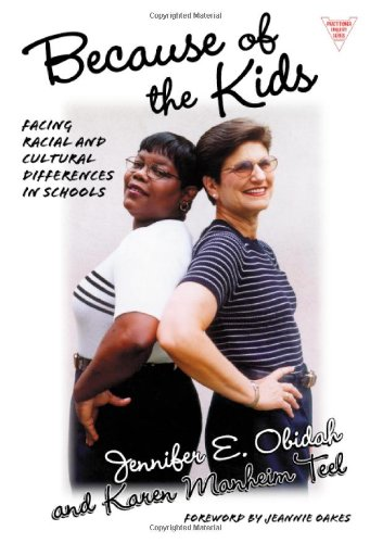 Because of the Kids Facing Racial and Cultural Differences in Urban Schools  2001 edition cover