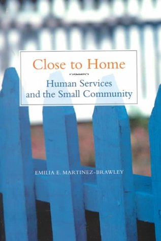 Close to Home Human Services in the Small Community  2000 edition cover
