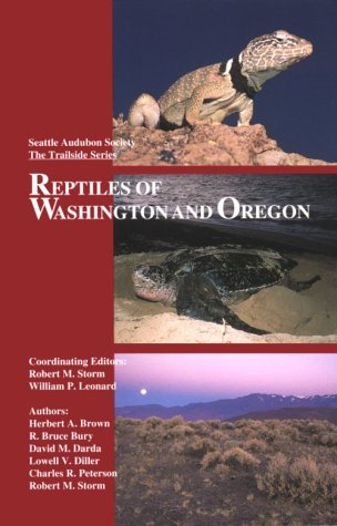 Reptiles of Oregon and Washington 1st edition cover