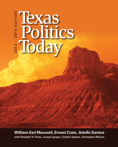 Texas Politics Today 2013-2014  16th 2014 9781133602125 Front Cover
