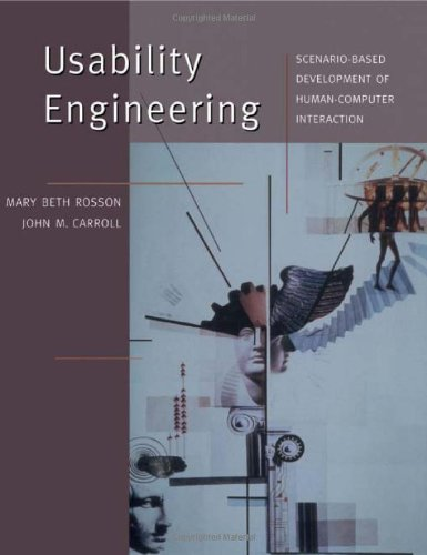 Usability Engineering Scenario-Based Development of Human-Computer Interaction  2002 edition cover