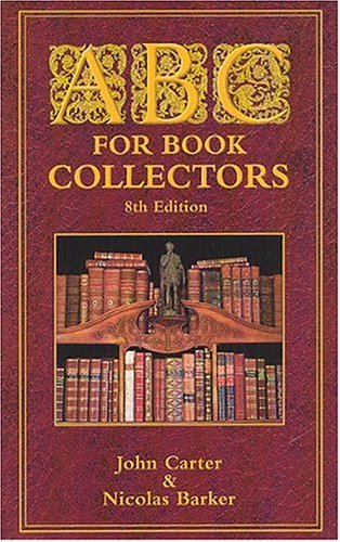 ABC for Book Collectors  8th 2003 edition cover