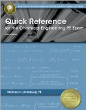 Quick Reference for the Chemical Engineering PE Exam  3rd edition cover