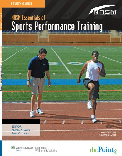 NASM Essentials of Sports Performance Training   2009 (Student Manual, Study Guide, etc.) edition cover