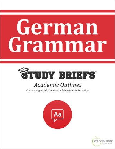 German Grammar  N/A 9781634262125 Front Cover
