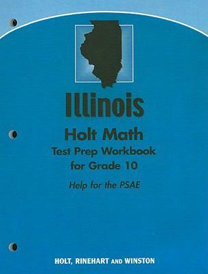 Geometry, Grade 10 Test Preparation Workbook: Holt Geometry Illinois  2007 edition cover